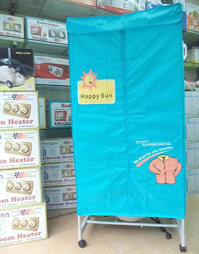 Tủ sấy quần áo Happy Sun H802F 2 tầng